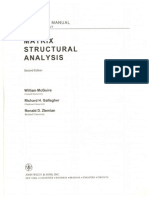 matrix structural analysis 2nd edition solution manual