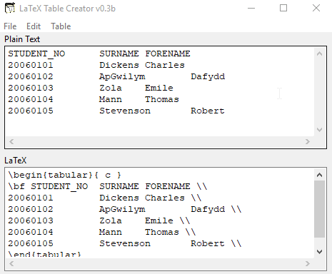 latex manually insert part in table of contents
