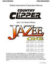 country clipper jazee parts manual