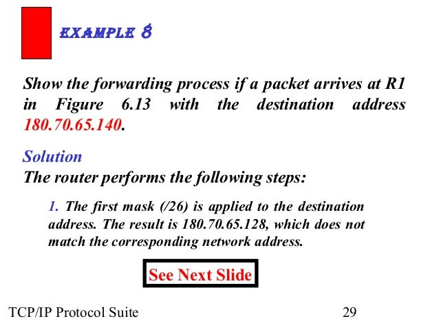tcp ip protocol suite solution manual