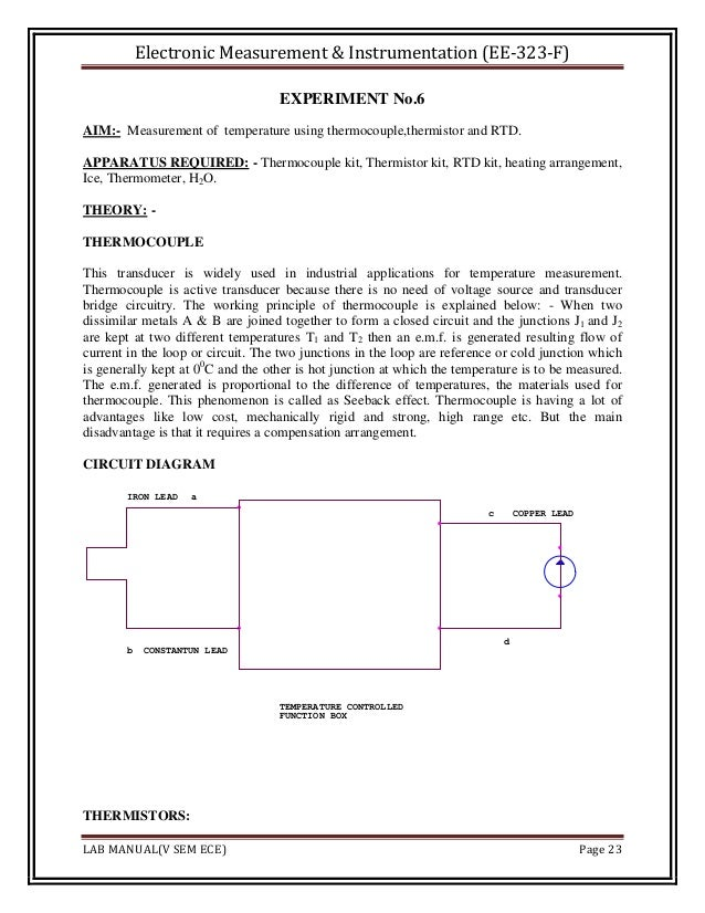 measurement and instrumentation theory and application solution manual