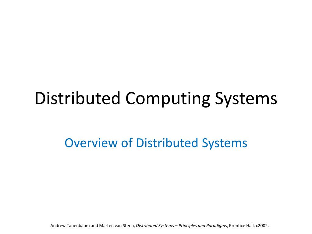 distributed systems principles and paradigms solutions manual