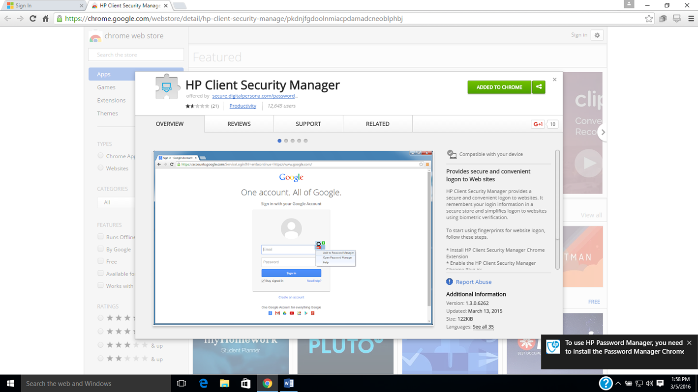 hp client security manager manual