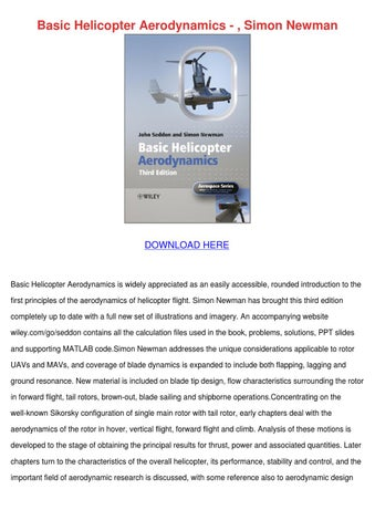 principles of helicopter aerodynamics solution manual