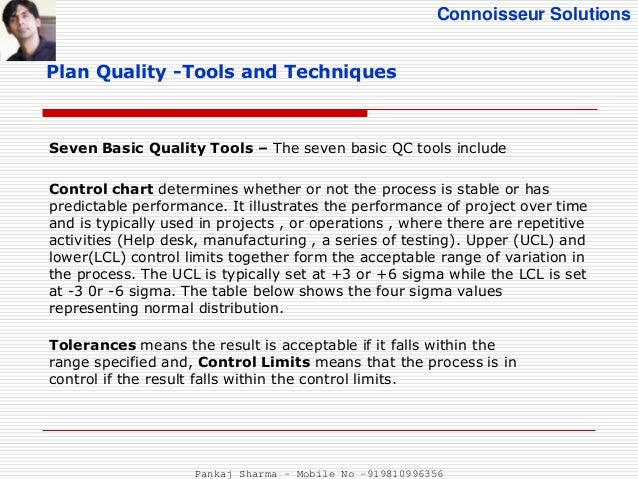 six sigma basic tools and techniques solution manual